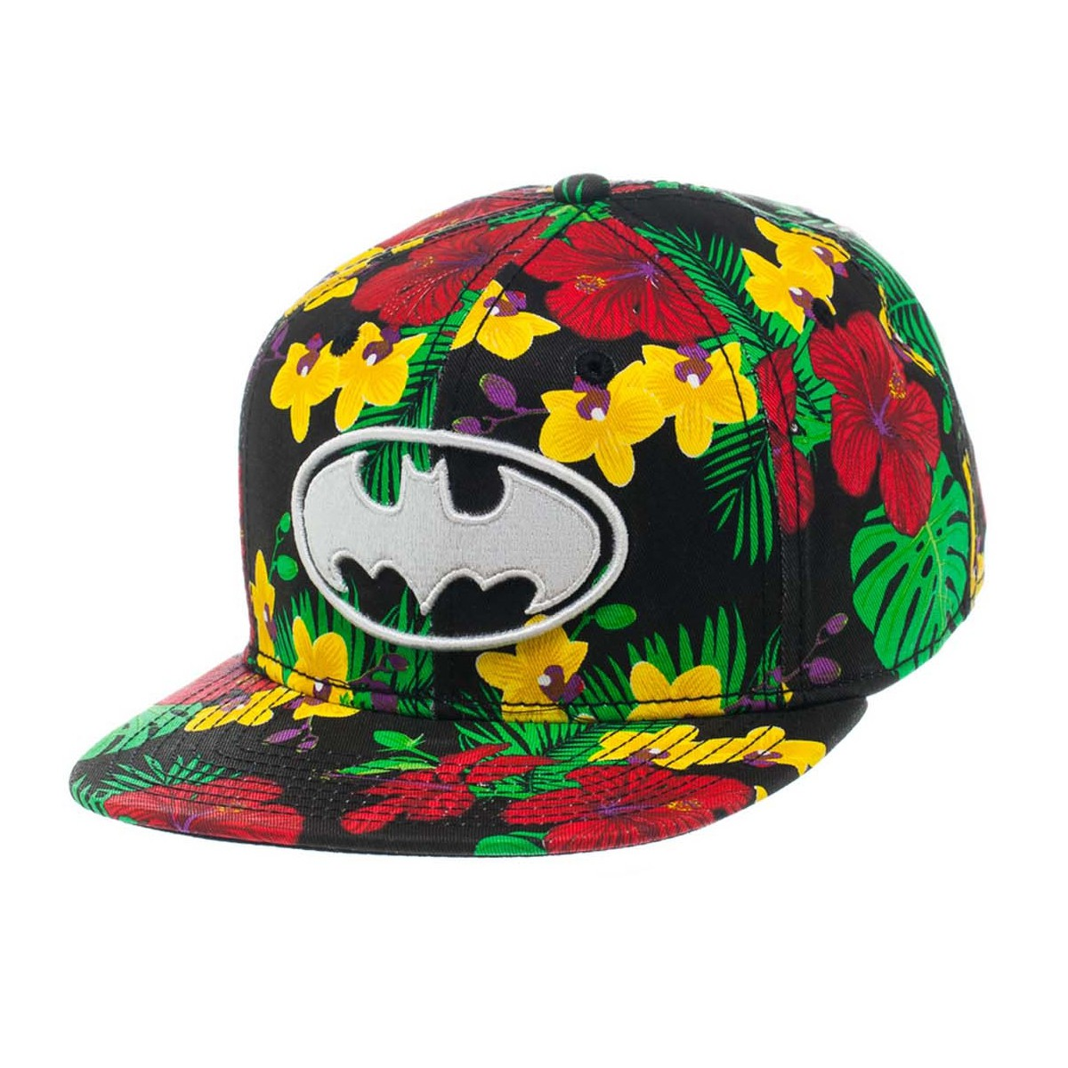 122dfe7af97 Batman - Flower Print Snapback - Darkside Central