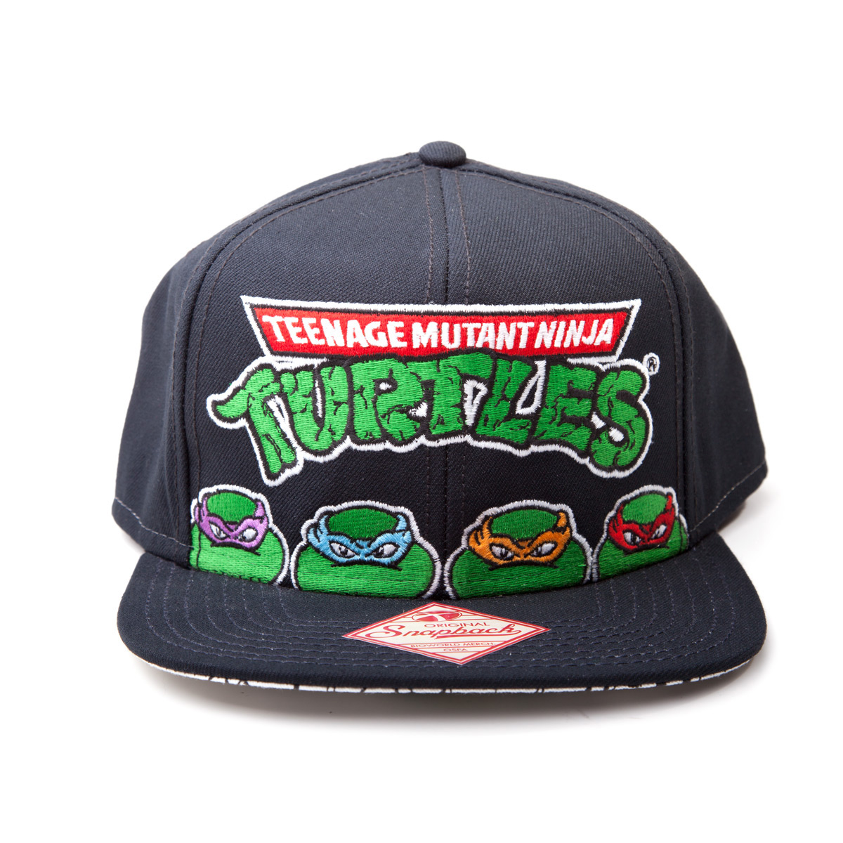 30aa1ef841c Teenage Mutant Ninja Turtles - TMNT Snapback - Darkside Central